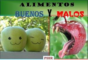 ALIM BUENOS Y MALOS