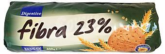 Fibra 23% Azúcar 50% Grasas refinadas 20%