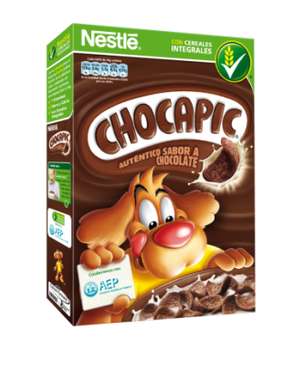 Chocapic también colabora con AEP